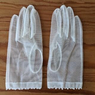シェリー(CHERIE)のウェディンググローブ ショート オーガンジー(手袋)
