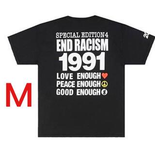 グッドイナフ(GOODENOUGH)のgoodenough fragment END RACISM Tシャツ M 限定(Tシャツ/カットソー(半袖/袖なし))