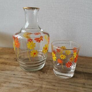 東洋佐々木ガラス - アデリア 昭和レトロ 水差し 冠水瓶