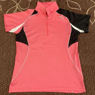 ウィルソン(wilson)の【美品】 Wilson テニス バドミントン ゲームシャツ ユニフォーム XL(バドミントン)