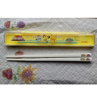 ポケモン(ポケモン)のポケモン 箸&箸箱(カトラリー/箸)