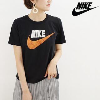 ナイキ(NIKE)のNIKE ナイキ 手描きロゴ グラフィック Tシャツ ブラック(Tシャツ(半袖/袖なし))