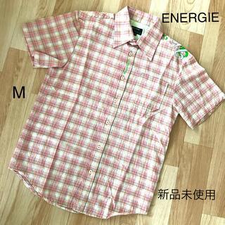 エナジー(ENERGIE)のENERGIE エナジー チェックシャツ M 新品未使用(シャツ)