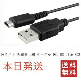 ニンテンドーDS(ニンテンドーDS)のDSライト 充電器USBケーブルDSL DS Lite NDS(携帯用ゲーム機本体)