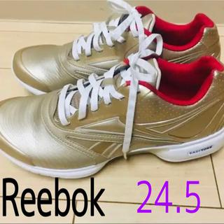 リーボック(Reebok)のReebok イージートーン 24.5  ゴールド (スニーカー)