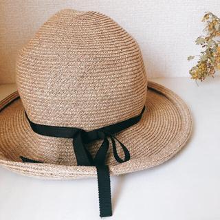 ネストローブ(nest Robe)の値下げ 麦わら帽子 (麦わら帽子/ストローハット)