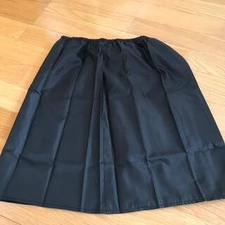 ジーユー(GU)のインナーペチコート 下着の透け防止 【ブラック】(その他)