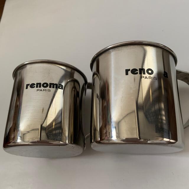 RENOMA(レノマ)のrenoma PARIS レノマ ステンレス マグカップ インテリア/住まい/日用品のキッチン/食器(グラス/カップ)の商品写真