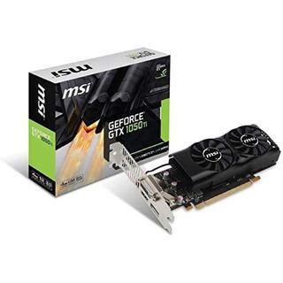 MSI GeForce GTX 1050 Ti 4GT LP グラボ(PCパーツ)