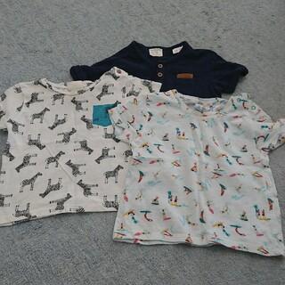 ザラキッズ(ZARA KIDS)のTシャツ 3枚(Tシャツ)