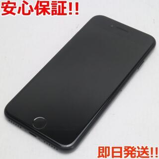 アイフォーン(iPhone)の美品 SIMフリー iPhone SE 第2世代 128GB ブラック (スマートフォン本体)