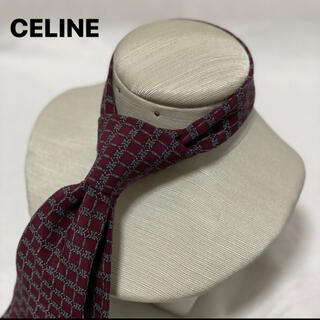セリーヌ(celine)のceline ネクタイ シルク100%(ネクタイ)