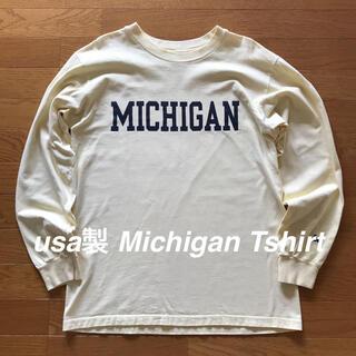 usa製 Michigan ロンT  ビンテージ レア