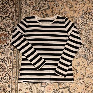 ムジルシリョウヒン(MUJI (無印良品))の無印良品 オーガニックコットンクルーネックTシャツ(Tシャツ(長袖/七分))