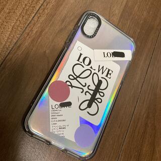 ロエベ(LOEWE)のiPhoneXS ケース loewe(iPhoneケース)