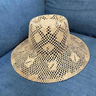 トゥモローランド(TOMORROWLAND)のラメゾンドリリス 麦わら帽子(麦わら帽子/ストローハット)