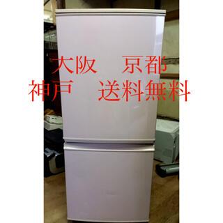 シャープ(SHARP)のシャープ ノンフロン冷凍冷蔵庫   SJ-14E1-SP     2014年製(冷蔵庫)