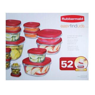 コストコ(コストコ)のRubbermaid ラバーメイド 保存容器 52ピースセット(容器)
