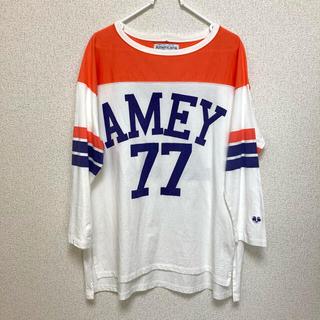 アメリカーナ(AMERICANA)のアメリカーナ フットボールTシャツ (Tシャツ(長袖/七分))