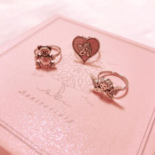 Ameri VINTAGE - silver ring ♡