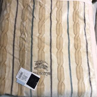 BURBERRY - バーバリー 綿毛布