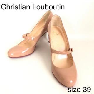 Christian Louboutin - Christian Louboutin ストラップ パンプス ベージュ 39