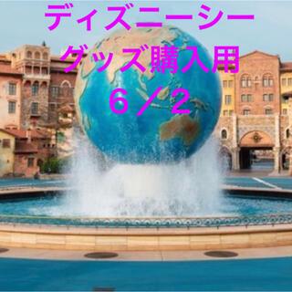 ディズニー(Disney)のディズニーシーチケット グッズ購入用 6/2(キャラクターグッズ)