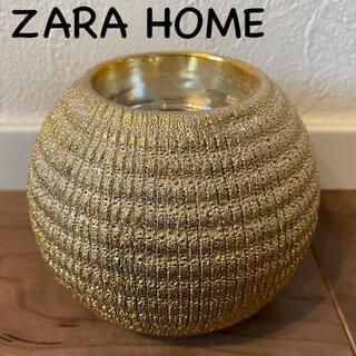 ザラホーム(ZARA HOME)の新品未使用 ZARAHOME ザラホーム キャンドルホルダー キャンドルスタンド(アロマ/キャンドル)