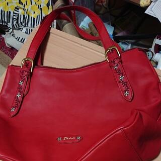 ダコタ(Dakota)のDakotaの赤いトートバッグ(トートバッグ)