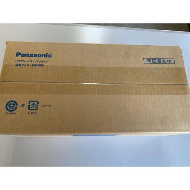 Panasonic(パナソニック)の 電動自転車用 リチウムイオンバッテリー 新品未使用 スポーツ/アウトドアの自転車(パーツ)の商品写真