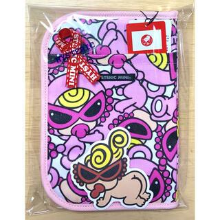 ヒステリックミニ(HYSTERIC MINI)のヒスミニ☆正規品☆新品☆母子手帳ケース☆L☆ピンク☆貴重品☆カード☆テディ☆⑥(母子手帳ケース)