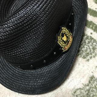 ユニクロ(UNIQLO)のディズニー ミッキー  ハット 帽子 〜58cm(ハット)