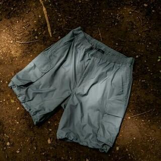 ワンエルディーケーセレクト(1LDK SELECT)の【グレーM新品】Daiwa PIER39 Tech French Shorts(ショートパンツ)
