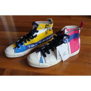 ヨウジヤマモト(Yohji Yamamoto)のY's ワイズ 山本耀司 ヨウジヤマモト キャンバス スニーカー シューズ 靴(スニーカー)