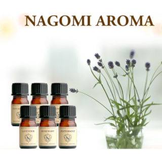 新品NAGOMI AROMA エッセンシャルオイル6本セット(エッセンシャルオイル(精油))