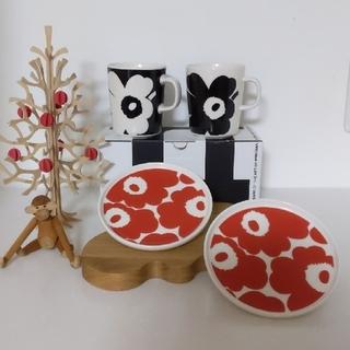 マリメッコ(marimekko)のmarimekko アニバーサリーマグカップ&ウニッコプレート セット(食器)
