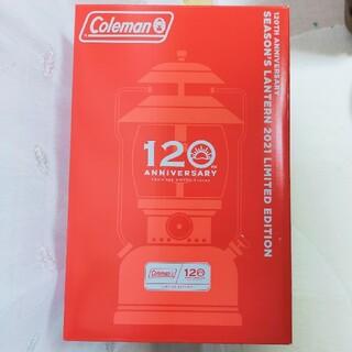 コールマン(Coleman)のコールマン 120th アニバーサリー シーズンズランタン2021(ライト/ランタン)