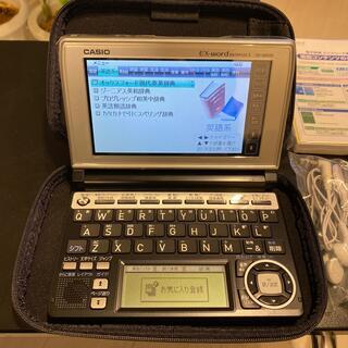 CASIO - 電子辞書 ケース付 美品 CASIO EXword XD-A8500BS