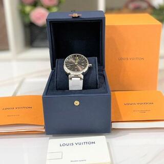ルイヴィトン(LOUIS VUITTON)の美品☆ ルイヴィトン タンブールGMT 自動巻き 2018年(腕時計(アナログ))