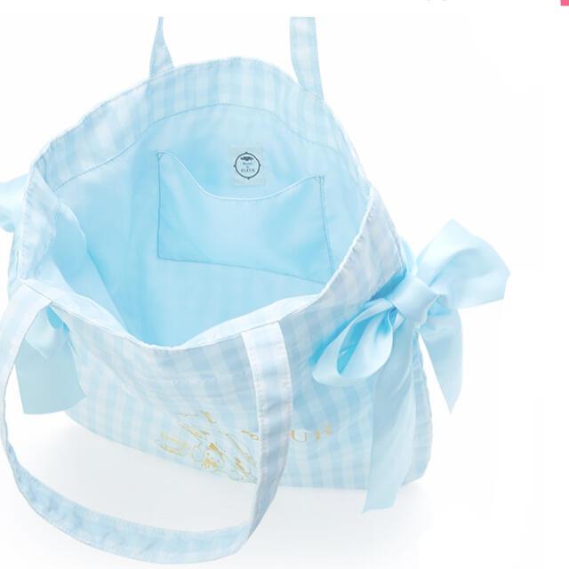Maison de FLEUR(メゾンドフルール)のメゾン・ド・フルール サンリオ コラボ シナモロール チェック柄 トートバッグ レディースのバッグ(トートバッグ)の商品写真