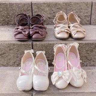 アンジェリックプリティー(Angelic Pretty)のTea Party Shoes他  4足セット(ハイヒール/パンプス)
