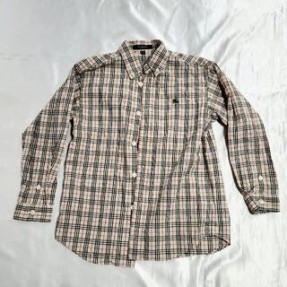 バーバリー(BURBERRY)のBURBERRY バーバリー チェックシャツ120A(ブラウス)
