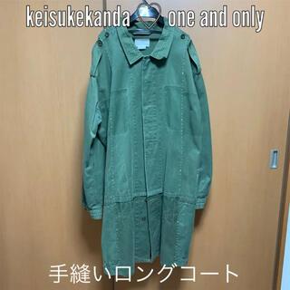 keisuke kanda - 【1点もの】keisukekanda ケイスケカンダ 手縫いの軍ジャケット