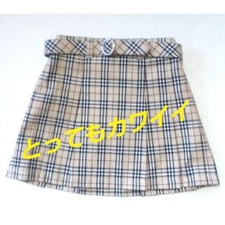 バーバリー(BURBERRY)のBURBERRY キッズサイズ90 ミニスカート(スカート)
