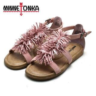 ミネトンカ(Minnetonka)のMINNETONKA ミネトンカ 本革スウェード サンダル(サンダル)
