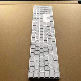アップル(Apple)のアップルマジックキーボード10キー付(PC周辺機器)
