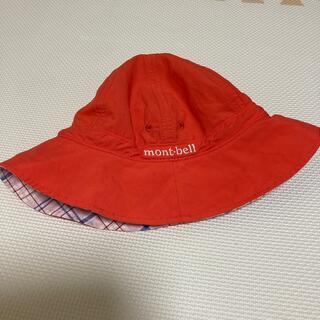 モンベル(mont bell)のmont-bell☆リバーシブルキッズ帽子 51〜54㎝(帽子)