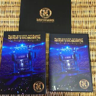 キスマイフットツー(Kis-My-Ft2)のキスマイ ミュージックコロシアム ライブツアー 初回盤 DVD 2枚組 (ミュージック)