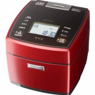 ミツビシデンキ(三菱電機)の炊飯器 MITSUBISHI NJ-VXA10-R 炭炊釜 備長炭(炊飯器)