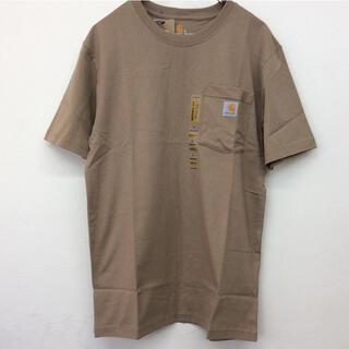 カーハート(carhartt)のカーハート t-シャツ S デザート 新品 K87(Tシャツ/カットソー(半袖/袖なし))